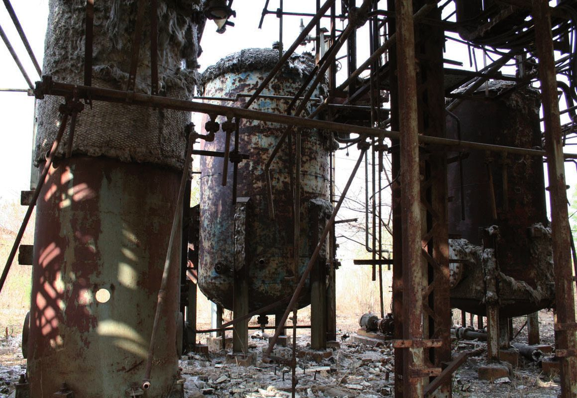 Bhopal: an environmental industrial catastrophe. A toxic cloud escaping from a chemical plant operated by a subsidiary of Union Carbide Company (USA) led to the death of more than 25 000 people. © CC-BY-SA-2.0. / Simone Lippi